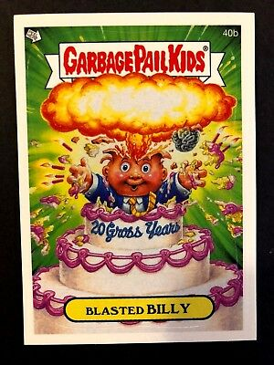 Topps Garbage Pail Kids 2005 GPK ANS 4 #40b Blasted BILLY NrMint-Mint