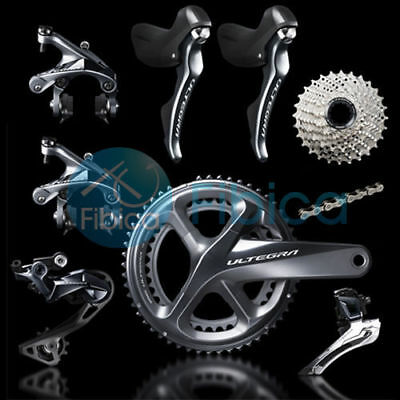 7a0626bcaf2 New 2019 Shimano Ultegra R8000 Full Road Groupset Group 50/34t 53/39T 172.5