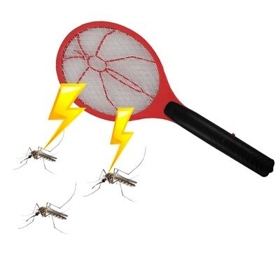 Electric Fly Insect Swat Swatter Bug Mosquito Wasp Zapper Killer Electronic