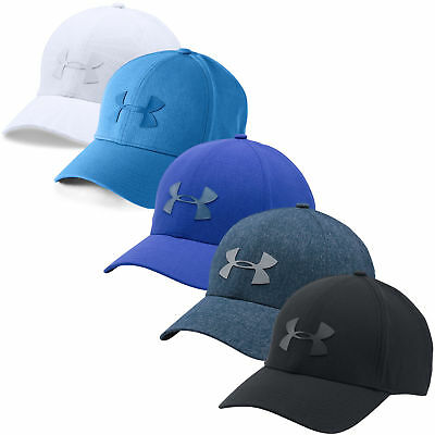 Under Armour Mens UA Driver Baseball Cap 2.0 Adjustable Golf 30% OFF RRP