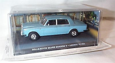 James Bond Rolls Royce Silver Shadow ll Licence to Kill New in sealed pack
