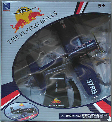 NewRay F4U-4 Corsair The Flying Bulls Red Bull 1:48 Neu/OVP Flugzeug-Modell