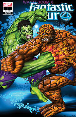 Fantastic Four #1 Greg Horn Store Variant Cover Homage To Ff #112 Wanted Comix