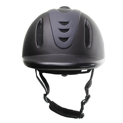 Premium ABS Low Profile Horse Riding Helmet LARGE Equestrian Head Protector