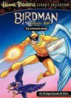 Birdman & The Galaxy Trio The Complete Series 2-Disc Set DVD VIDEO MOVIE TV show