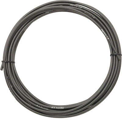 Lubricated inner Tube Jagwire 25 feet Shift Cable Housing Black Braided F16