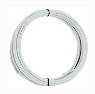 Jagwire Bicycle Brake Cable Housing Casing White Jagwire 25'