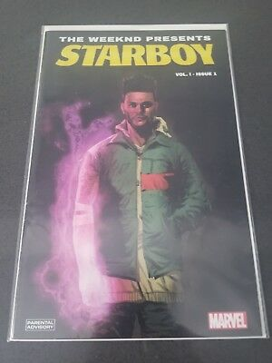 THE WEEKND STARBOY VOL 1 - #1 VF+ COMIC BOOK RARE VARIANT