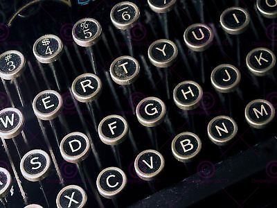 Photo Detail Antique Retro Vintage Typewriter Keyboard Canvas Art Print