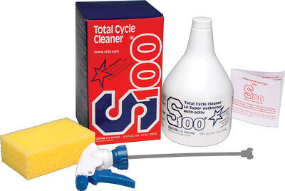 Total Cycle Cleaner Deluxe Set - 1 Liter S100 12001B Spray on-Hose off