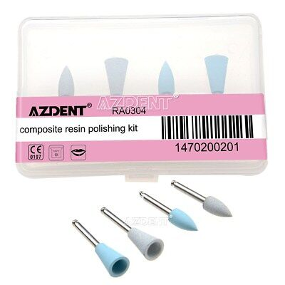 Dental Composite Resin Polishing Kit RA0304 for Low Speed Contra Handpiece