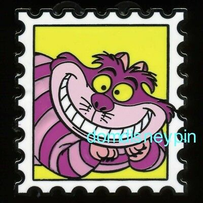 Disney Pin Magical Mystery Pins (Series 10) *Character Stamps* - Cheshire Cat!
