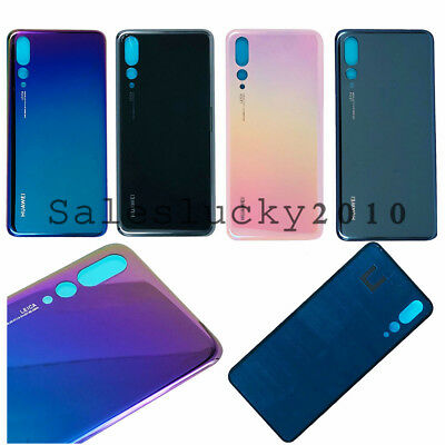 For Huawei P20 Pro Battery Cover Back Door Housing Rear Glass + Adhesive OEM