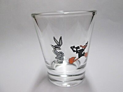 Bugs Bunny & Daffy Duck Cartoon Character Shot Glass