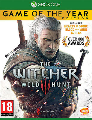 The Witcher 3 Wild Hunt - Game of the Year Edition (Xbox One)