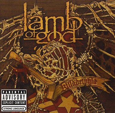 Lamb Of God-Killadelphia/Explict  CD NEW