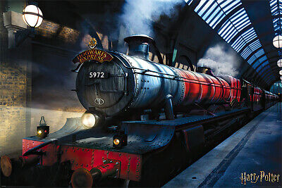 """HARRY POTTER - MOVIE POSTER / PRINT (THE HOGWARTS EXPRESS) (SIZE: 36"""" x 24"""")"""