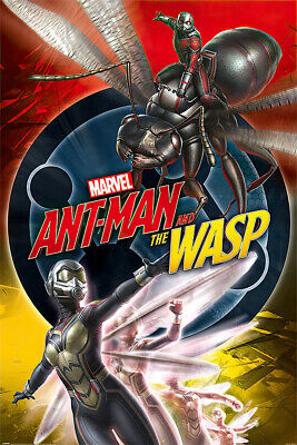 "ANT-MAN AND THE WASP - MARVEL MOVIE POSTER / PRINT (UNITE) (SIZE: 24"" x 36"")"