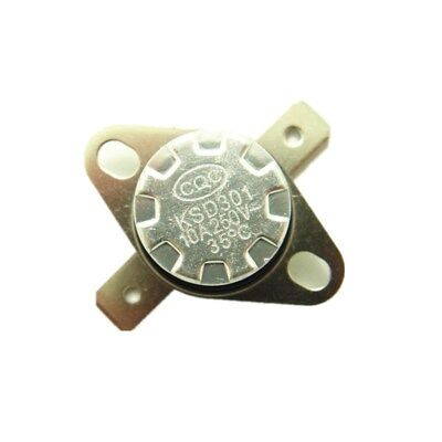 4 Pieces N//C 175ºC 347ºF normally closed Thermal NC Thermostat switch KSD301 A21