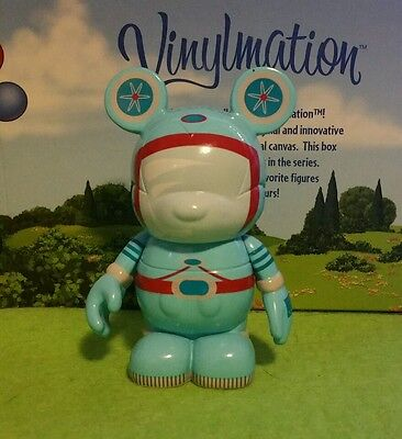 "DISNEY Vinylmation 3"" Park Set 4 Tomorrowland Space Suit Transit"