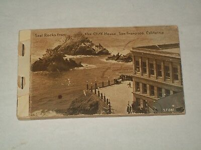 PANAMA-PACIFIC INTERNATIONAL EXPOSITION-San Francisco-1915-Postcard-19-Card-Book