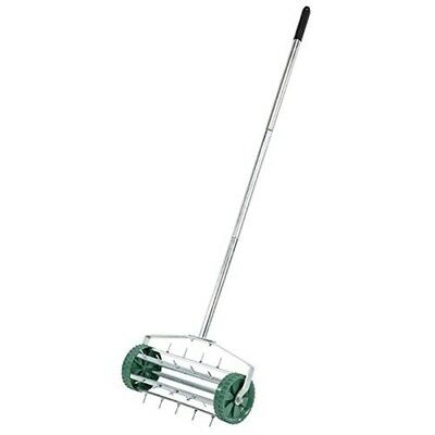Lawn Aerator 450mm Wheeled - Rolling Spiked Drum Draper 450mm 83983