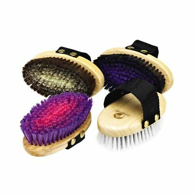 Cottage Craft Body Brush Xsmall Removes Dust And Shines Horses Coat Grooming Kit