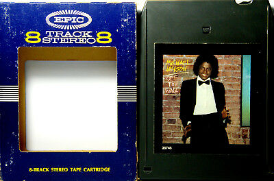 MICHAEL JACKSON Off The Wall 8 TRACK TAPE  CARTRIDGE