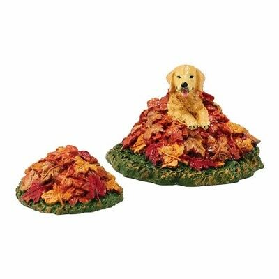 Dept 56 Village Harvest Fields Pup Set/2 #4048720 BRAND NEW Free Shipping