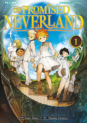 The Promised Neverland N° 1 - Edizioni BD - Jpop - ITALIANO NUOVO #NSF3