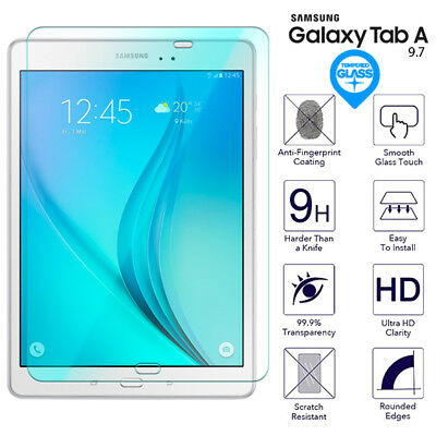 For Samsung Galaxy Tab A 9.7 Tempered Glass Screen Protector Film SM T550 T555
