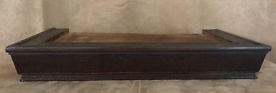 """Crown top Antique grandfather clock long case 19"""" replacement part arts & crafts"""