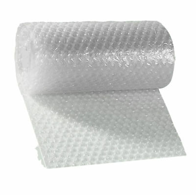 1 Roll 3/16 x 12 in x 50 ft - Small Bubble Plastic Wrap Non-Perforated