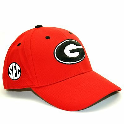 f3e632ad12a Georgia Bulldogs NCAA Adult Adjustable Wool Blend Hat Cap UGA Top Of The  World