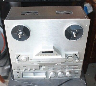Vintage Teac X-2000R Reel To Reel Recorder One Owner Free Shipping
