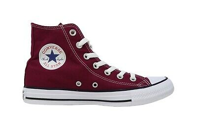 CONVERSE Chuck Taylor All Star Hi Top Marron Red Lace Up Sneakers Adult Men Shoe