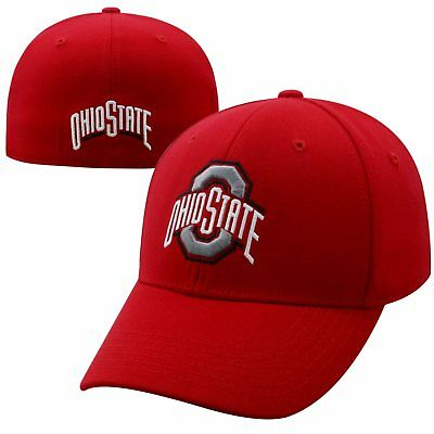 Ohio State Buckeyes Official NCAA One Fit Premium Cuff Hat Cap Top of the World