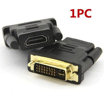 HDMI Female to Female/24+5Pin DVI Male/VGA Male/HDMI Male Adapter Connector HDTV