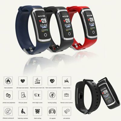 Smartwatch Blood Pressure Heart Rate Monitor Pedometer Sports Fitness Tracker M4