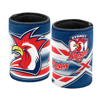 Sydney Roosters NRL Coffee Mug & Can Cooler Fathers Day Bar Man Cave Gift
