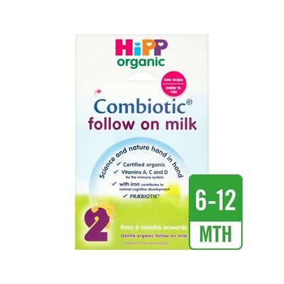 Hipp Organic Combiotic Follow On Milk 800g (Pack of 2)