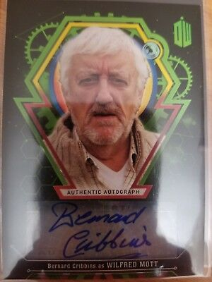 Doctor Who Extraterrestrial Encounters Bernard Cribbins Wilfred Mott AUTO 25/50