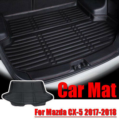 Car Rear Cargo Boot Trunk Mat Tray Pad Floor Protector For Mazda CX-5 2017-2018