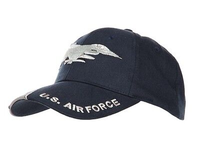 Us Army F-16 Lockheed Jet Falcon Airforce Baseball Cap Usmc Seals Navy Marines