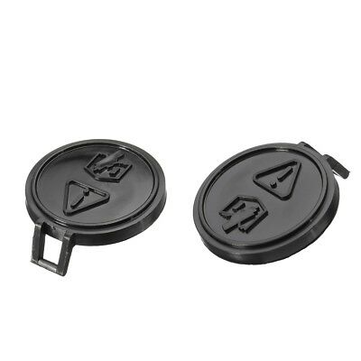 Two Radiator Tank Caps Water Bottle Covers For BMW MINI ONE & Cooper 01-06