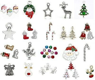 Christmas Charms - Various Designs - Xmas - BUY 2 GET 1 FREE (ADD 3 TO BASKET)