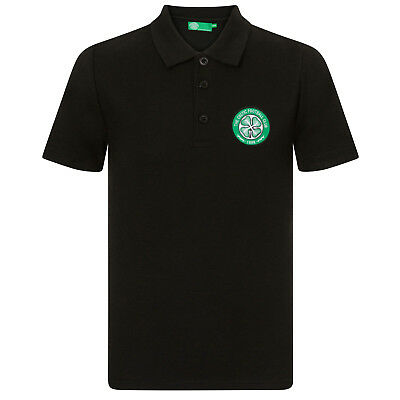 CELTIC FC OFFICIAL Football Gift Mens Crest Polo Shirt - £14.99 ... ed946f5ac