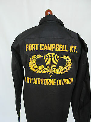 Us Army 101st Airborne Division Ft. Campbell Screaming Águila Tour Camisa #2 -