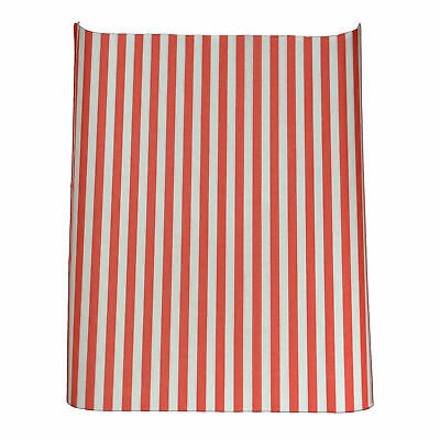 Red Striped Greaseproof Burger Wrap x 1000 - Fast Food Greaseproof Paper