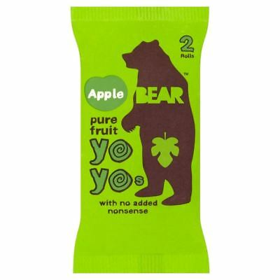 Bear Pure Fruit Yo Yos Apple (20g) (Pack of 2)